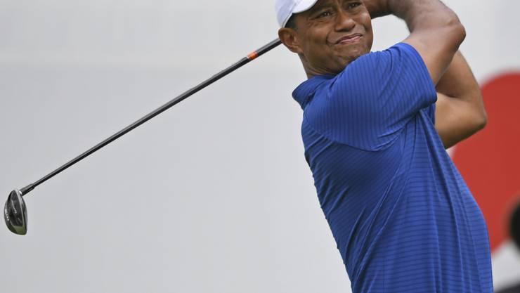 Tiger Woods lässt sich derzeit nicht aus der Spur bringen