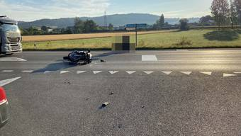 Vortritt missachtet: 63-jährige Autolenkerin kollidiert mit Motorradlenker – dieser muss ins Spital (20.07.2020)