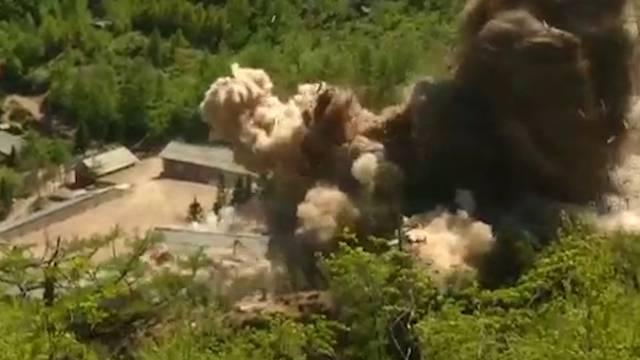 Hier sprengt Kim Jong-un sein Atomtestgelände