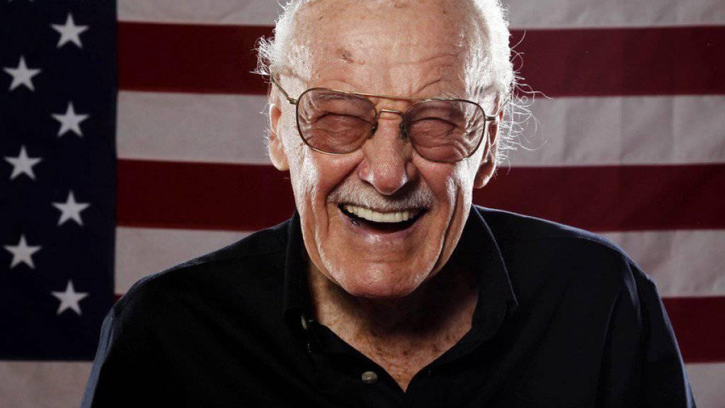 Comic-Legende Stan Lee verheimlichte in seinen Anfängen, dass er der Schöpfer von Spider-Man, Hulk und Konsorten war (Archiv).