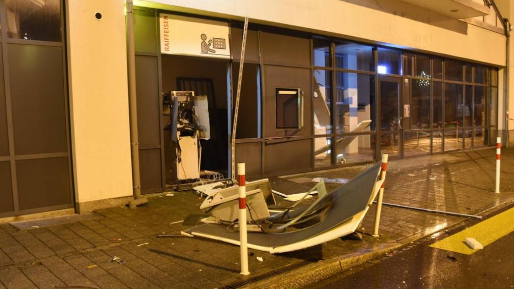 Nach Bankomatsprengung in Sevelen: Bundesanwaltschaft reicht Klage ein
