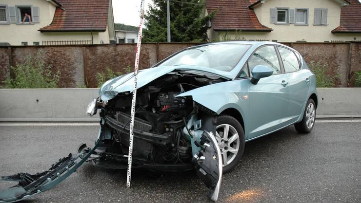 Am Auto entstand erheblicher Sachschaden