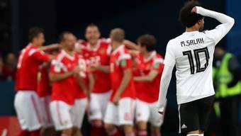 Impressionen aus dem Gruppenspiel Russland - Ägypten
