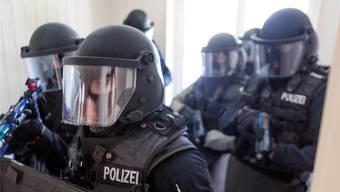 Nach einem Einsatz im Jahr 2009 wurde ein Mitglied der Spezialeinheit Argus der Kantonspolizei Aargau (hier bei einer Übung) verurteilt.