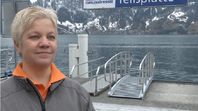 Gabriela Gick, Geschäftsführerin Seerestaurant Tellsplatte Sisikon