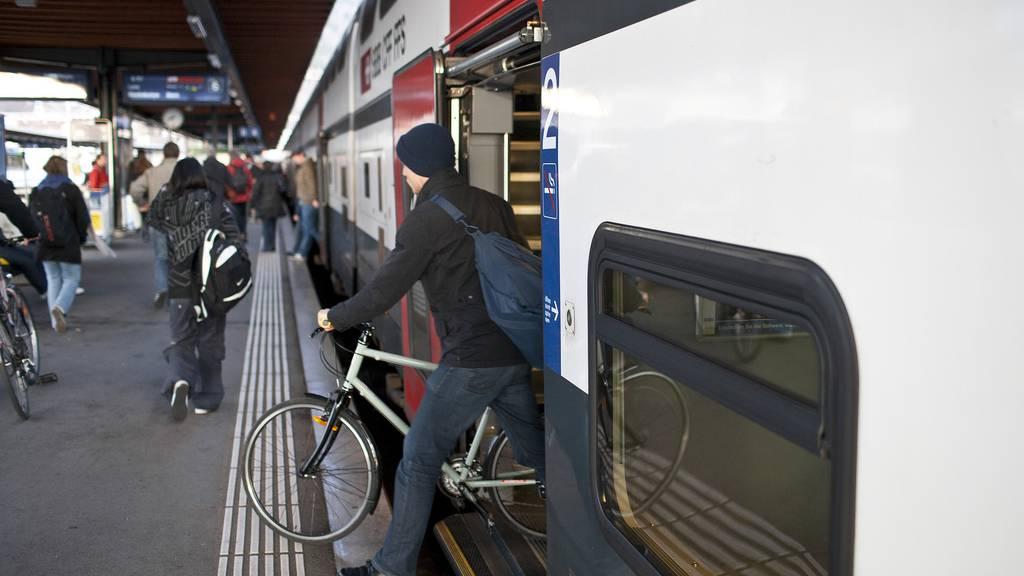 Veloboom in Zügen: SBB reagieren mit Reservationspflicht