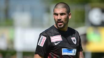 «Wir haben den Heimvorteil»: FCA-Stürmer Alessandro Ciarrocchi spricht über den Cup-Achtelfinal gegen den FC Lugano.