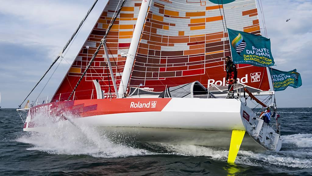 Volle Kraft voraus: Skipper Alan Roura will in 80 Tagen um die Welt.