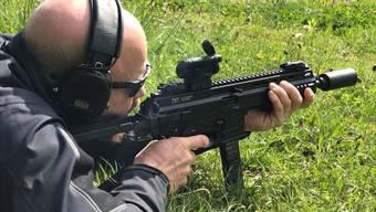 Gegen Westen etwas Neues: Die neuen Waffen können Sicherungskleidung durchschlagen.
