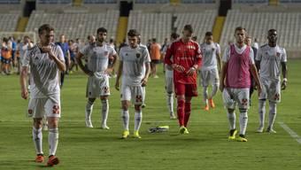 Impressionen aus dem Spiel FC Basel - Apollon Limassol (30.08.2018)