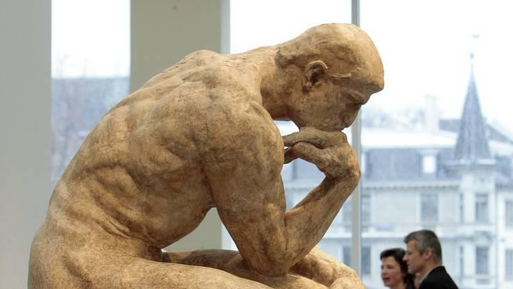 Auguste Rodin's Werk «Der Denker»