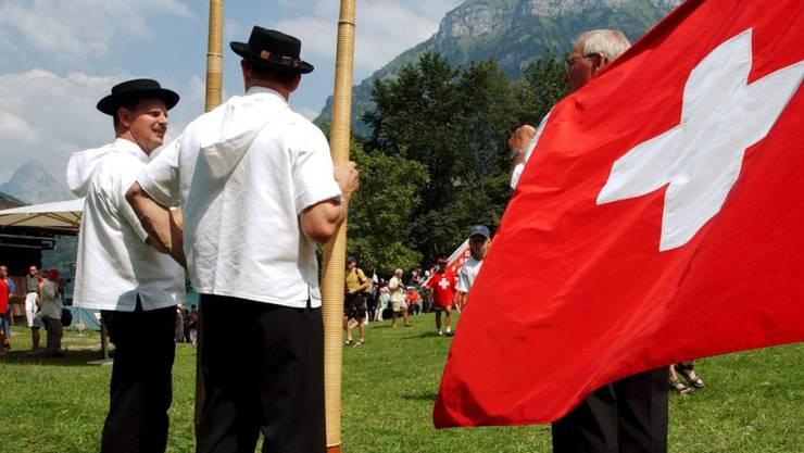 Tradition soll nicht festgeschrieben werden: Die Schweizer Nationalhymne bekommt kein eigenes Gesetz. (Symbolbild)