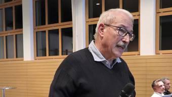 Alt Regierungsrat Rainer Huber will Gontenschwil attraktiver machen.