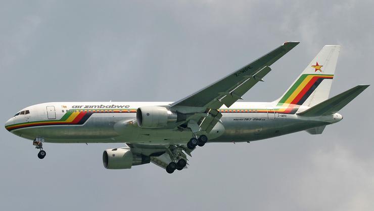 Die Fluggesellschaft Air Zimbabwe ist hochverschuldet.