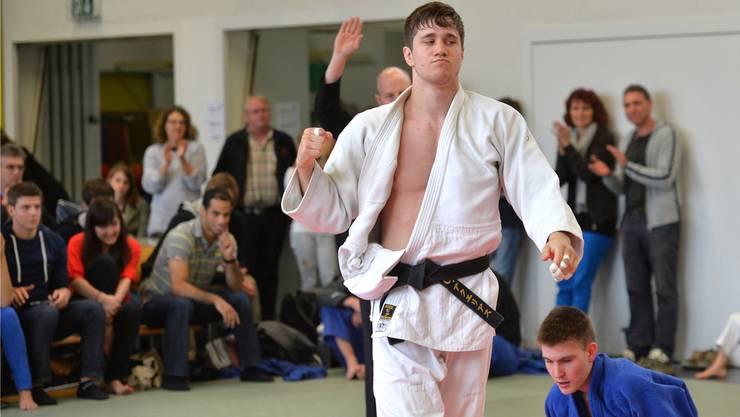 Ciril Grossklaus vom Judoclub Brugg.