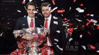 2014 gewann die Schweiz erstmals den Davis Cup. Nun soll das Format revolutioniert werden.