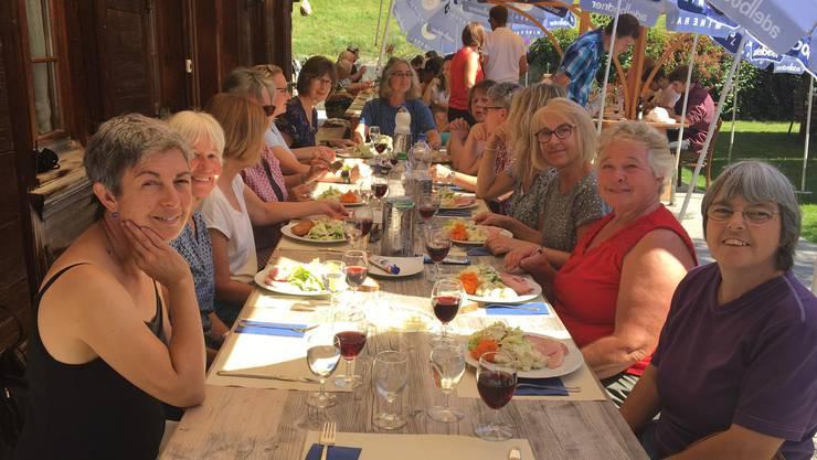 Mittagessen im Haflinger Zentrum