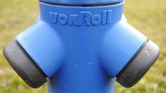 Ein Hydrant der vonRoll infratec. (Archiv)
