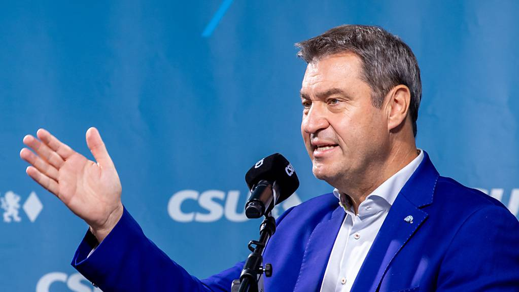 Markus Söder, CSU-Parteivorsitzender und Ministerpräsident von Bayern, sieht das bevorstehende Wochenende als letzte Chance für die Union einen Stimmungsumschwung zu erwirken.