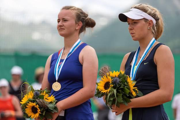 An der Junioren-Europameisterschaft in Klosters holte Kennel den zweiten Platz.