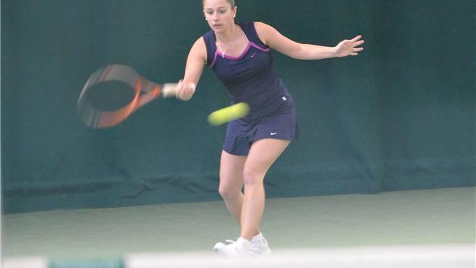Die R5-klassierte Corinne Gerber setzt sich im Final in drei Sätzen mit 4:6, 6:0, 6:2 durch.