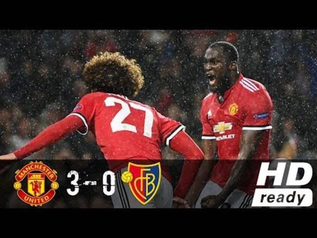 Manchester United – FC Basel 3:0: Alle Goals und die wichtigsten Momente der Champions-League-Partie