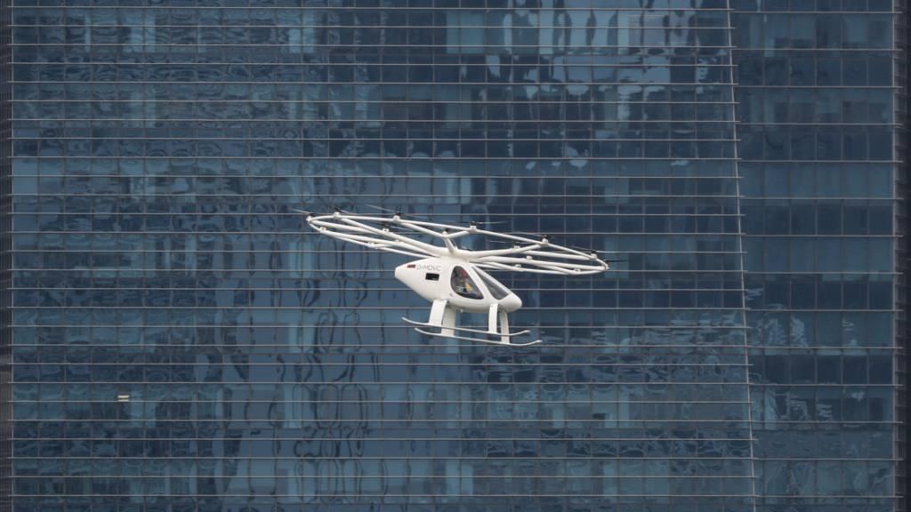 Volocopter auf Testflug in Singapur. (Archivbild)