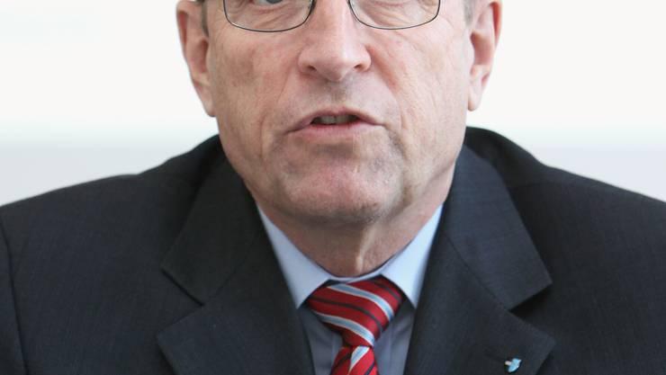 FDP-Regierungsrat Peter C. Beyeler