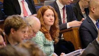 Hat einen Riesenwirbel ausgelöst: Die Grüne Lea Steinle hatte im vergangenen November ihren kleinen Sohn in den Saal des Grossen Rats mitgenommen.