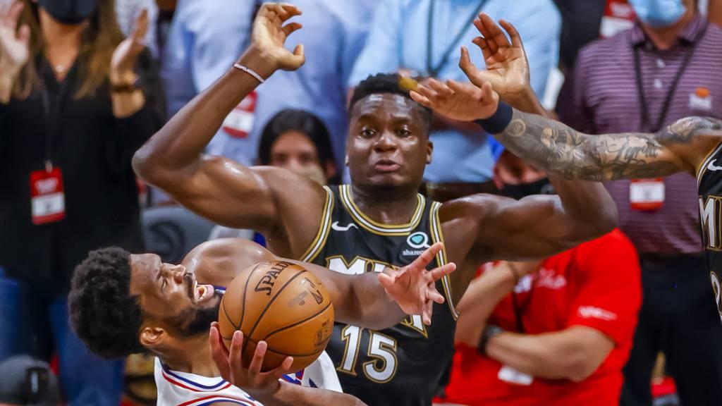 Alles offen zwischen den Hawks und den 76ers