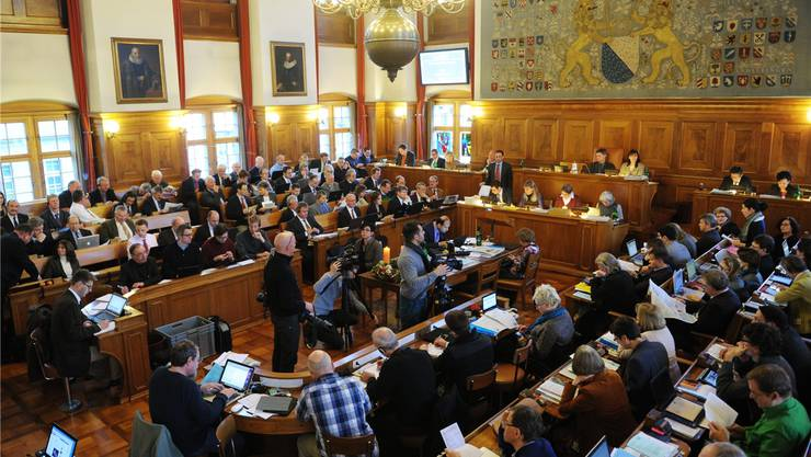 Der Zürcher Kantonsrat ist mit dem Entscheid der Gesundheitskommission gar nicht zufrieden. KEYSTONE/Steffen Schmidt