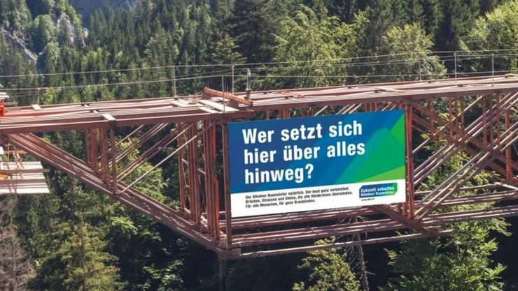 Involviert in die illegalen Machenschaften im Kanton Graubünden war nach Darstellung der Weko auch der kantonale Baumeisterverband.