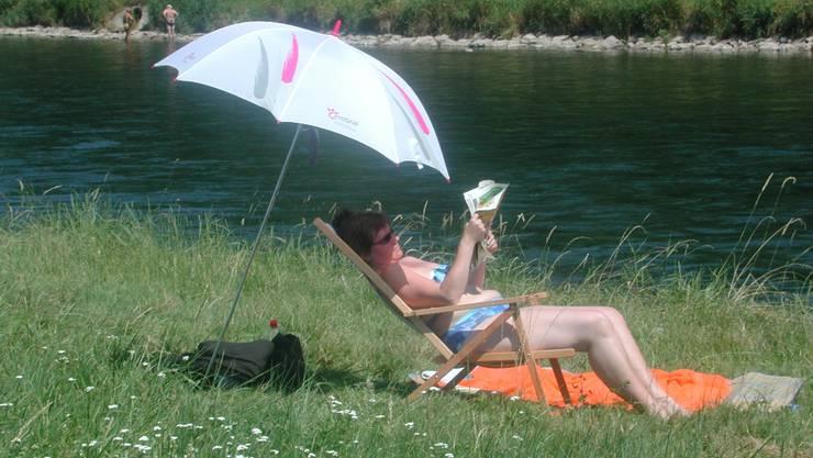 Wer in der Limmat baden will, muss sich diesen Sommer noch selber behelfen.