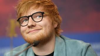 Der britische Musiker Ed Sheeran lässt das Rauchen. Im Mai 2018 feierte ein Jahr ohne Zigaretten. (Archiv)