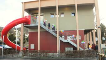 Neuer Kindergartenpavillon in Klingnau (18.01.2020)
