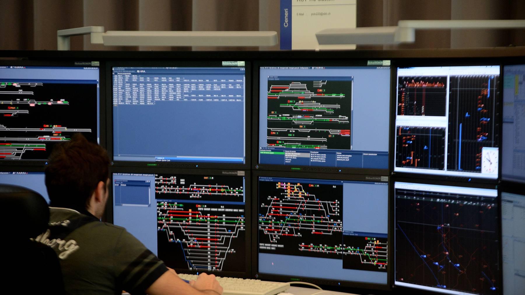 Mit dem Programm Smartrail 4.0 wollen die Bahnunternehmen Bahnen das Bahnsystem in der Schweiz bis 2040 modernisieren