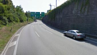 Die Autobahn A2 vom H18-Anschluss Muttenz Süd bis zur Verzweigung Hagnau wird für 200 Millionen saniert.