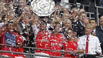 Arsenal feiert den ersten Titel in der neuen Saison