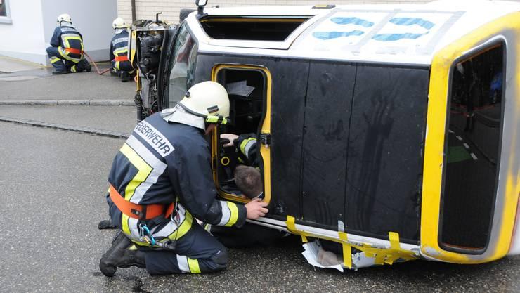 Feuerwehr-Hauptübung in Bettlach