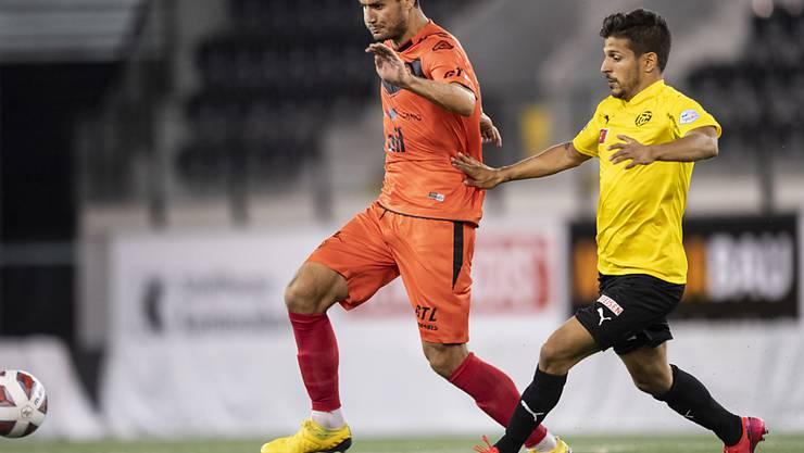Matchwinner für Lugano: Miroslav Covilo schoss in der Verlängerung das Siegtor zum 2:1