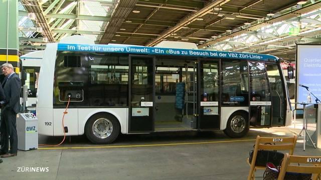 Zürich testet Elektro-Bus