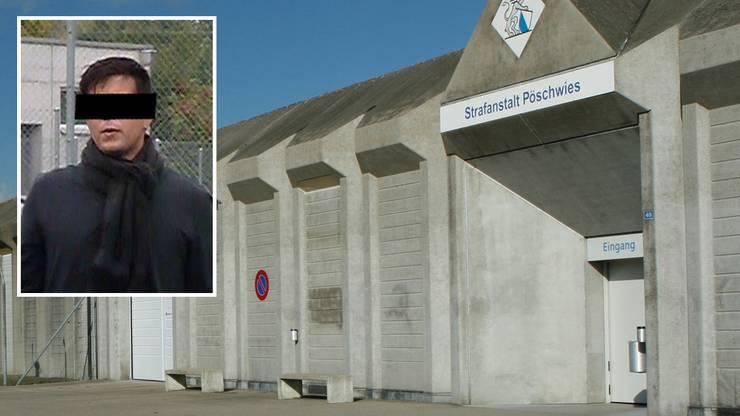Thomas N. wurde im Gefängnis Pöschwies in Regensdorf ZH inhaftiert. Hier wartet er seither auf den Prozess.