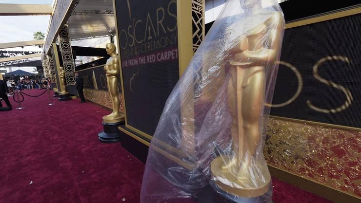 Die Vorbereitungen für die Oscarnacht laufen auf Hochtouren