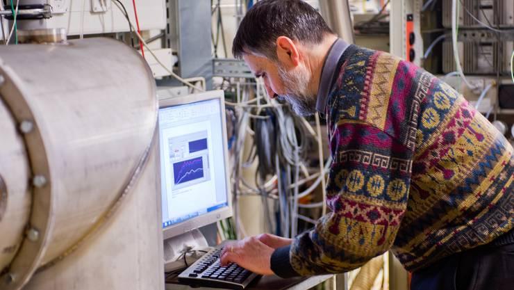 Forscher im neuen Institut für Bioenergie und Effizienz der Fachhochschule Nordwestschweiz und des PSI Emanuel Per Freudiger/Archiv
