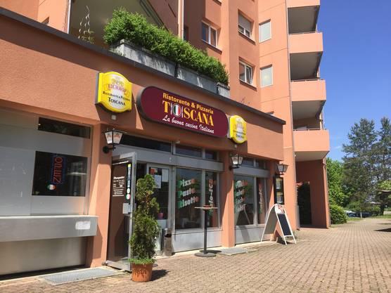 Die Pizzeria Toscana in Greifensee.