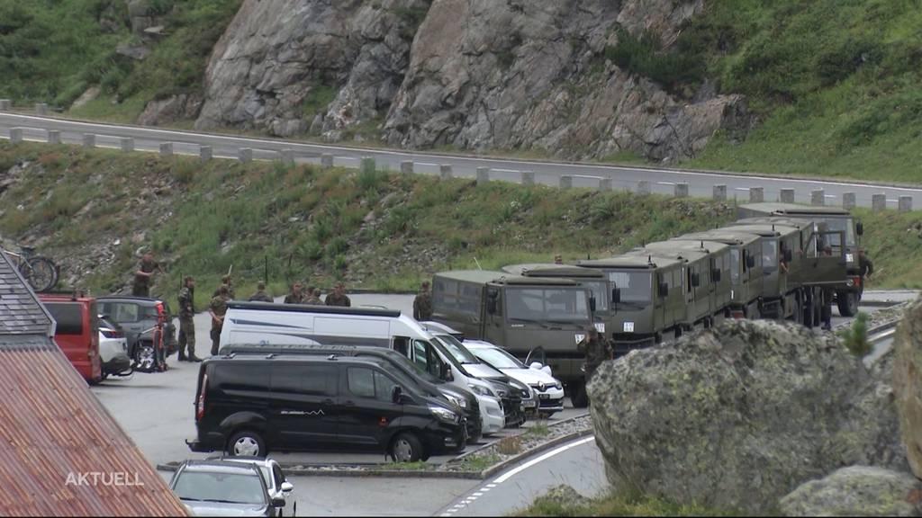 Rekrut stirbt bei Puch-Unfall auf Sustenpass