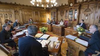 Blick in das Sitzungszimmer des Bundesrats (Archiv)
