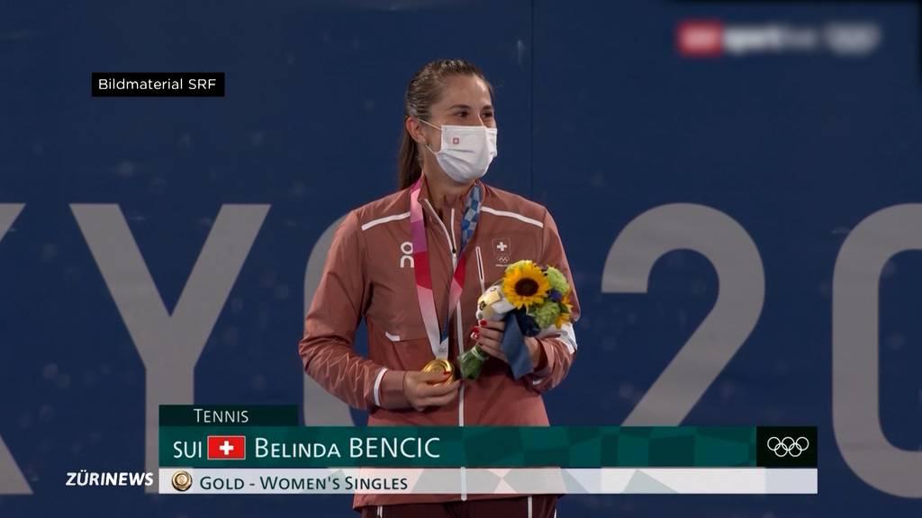 Belinda Bencic holt als erste Schweizer Tennisspielerin Olympia-Gold