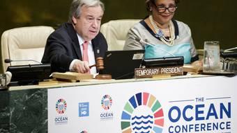 UNO-Generalsekretär Antonio Guterres eröffnet die Konferenz am Montag in New York.