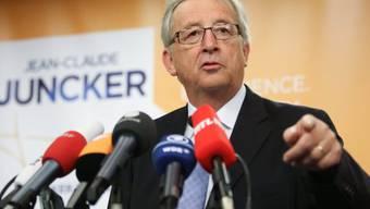 In der Pole-Position: der Luxemburger Jean-Claude Juncker